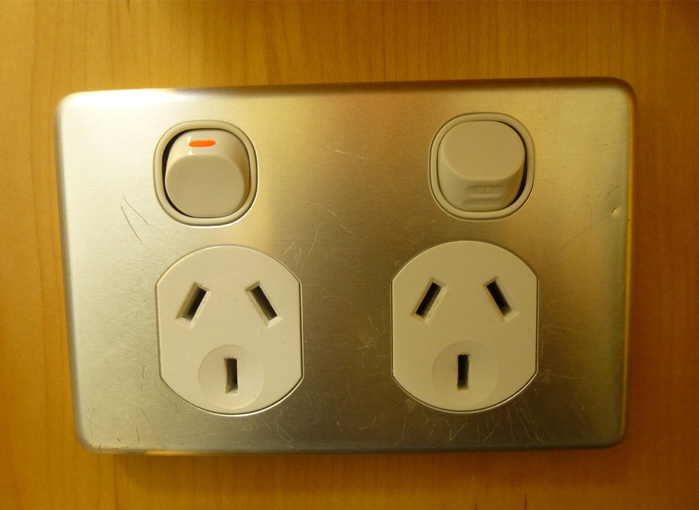 Australian Electrical Outlet