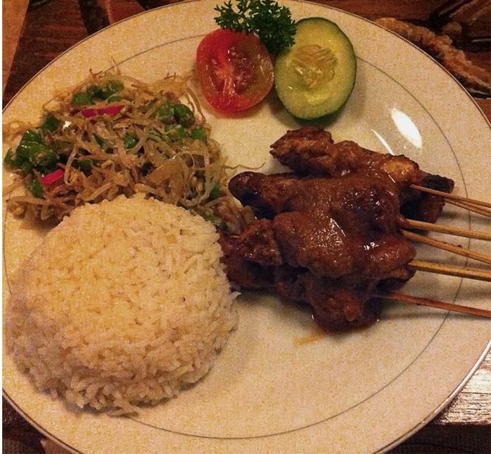 Dinner at Abe-do Warung