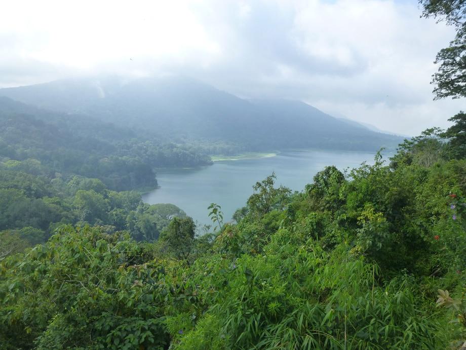 Beratan lake (also called Lake Bratan or Danu Bratan)