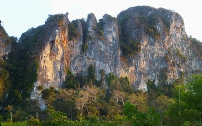 Limestone Cliffs Above Ao Nang, Thailand