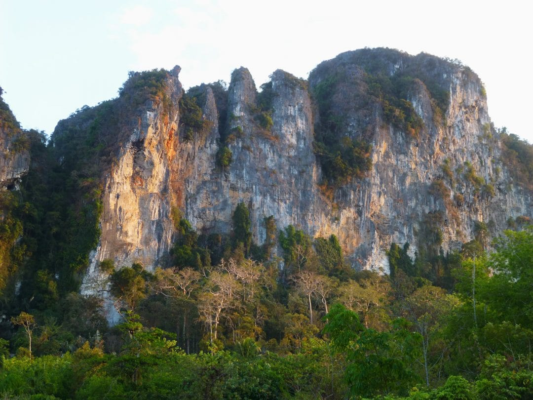 Cliffs Above Ao Nang, Thailand