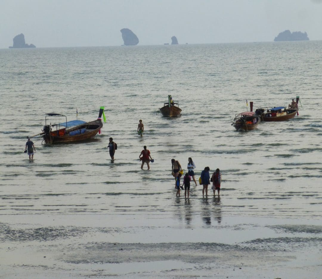 Ao Nang beach in Thailand