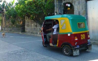 Wild Tuk-Tuk Ride Up the Streets of San Pedro la Laguna, Lake Atitlan, Guatemala