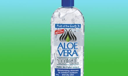 Fruit Of The Earth Aloe Vera 100% Gel for Sunburn