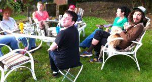Backyard-bar-b-que-gathering