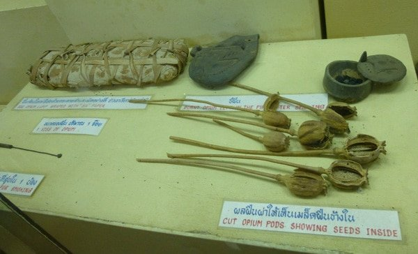 Exhibit at Chiang Rai Opium Museum