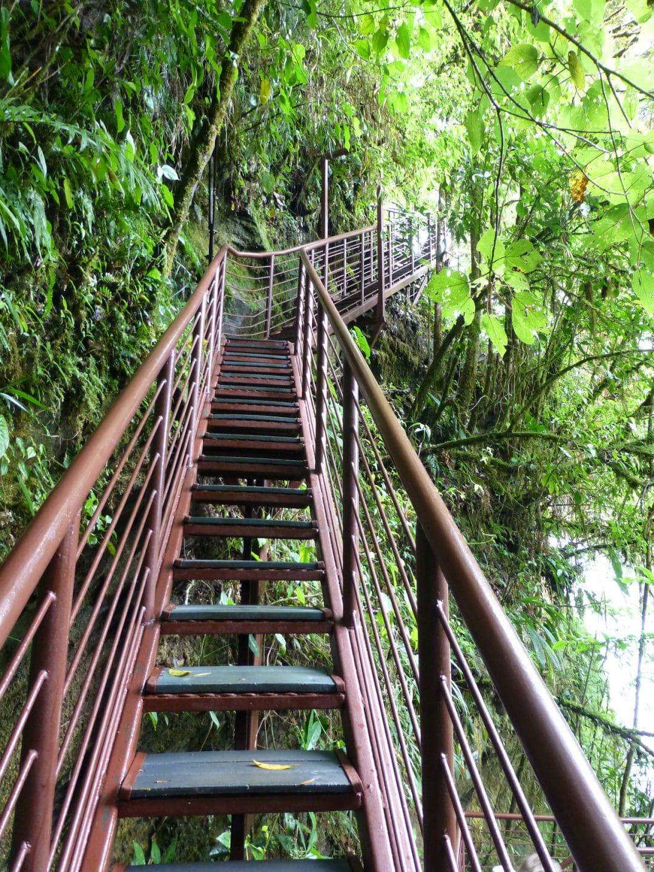 Waterfall Walkway in La Paz Waterfall Gardens, Costa Rica