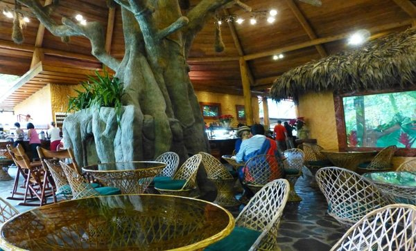 Calibre Restaurant in La Paz Waterfall Gardens, Costa Rica