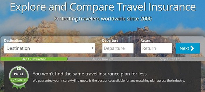InsureMyTrip travel insurance