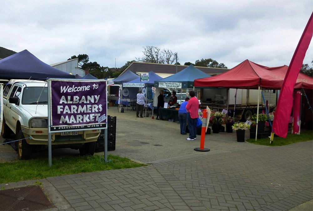 Albany Farmers Market, Albany, WA, Australia