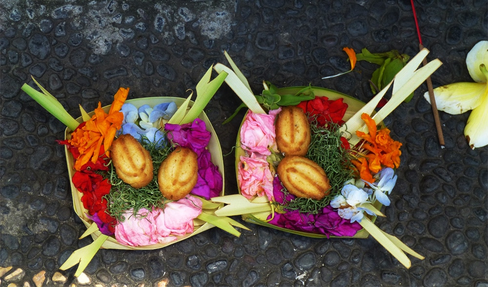 Balinese Offerings