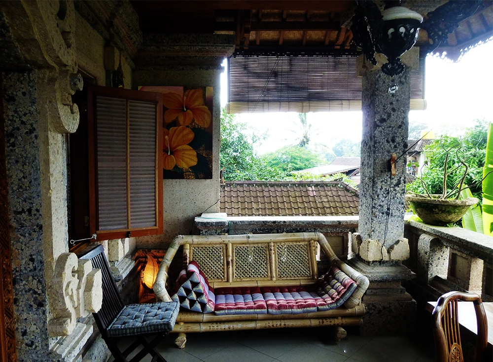Taman Sari Guest House terrace