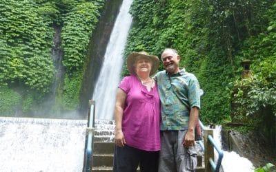 Waterfall in Munduk, Bali