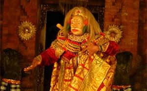 Topeng Tua Classic Balinese Dancer