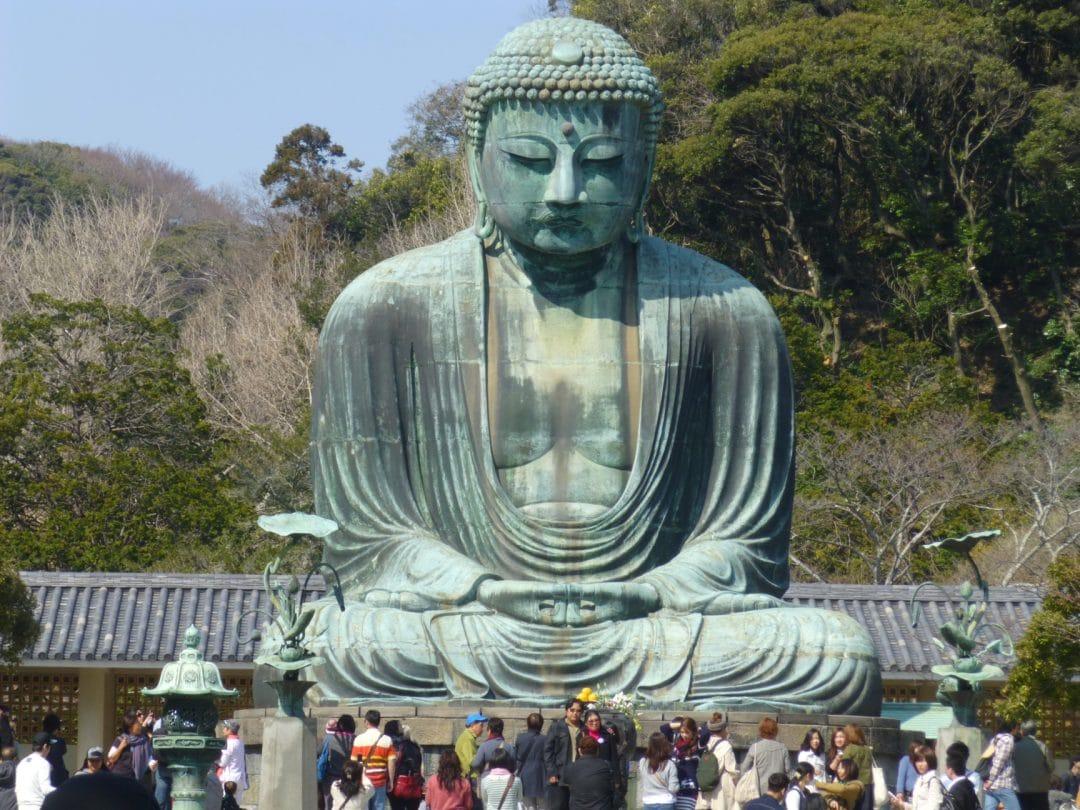 Bronze Buddha at Kamakura Daibutsu