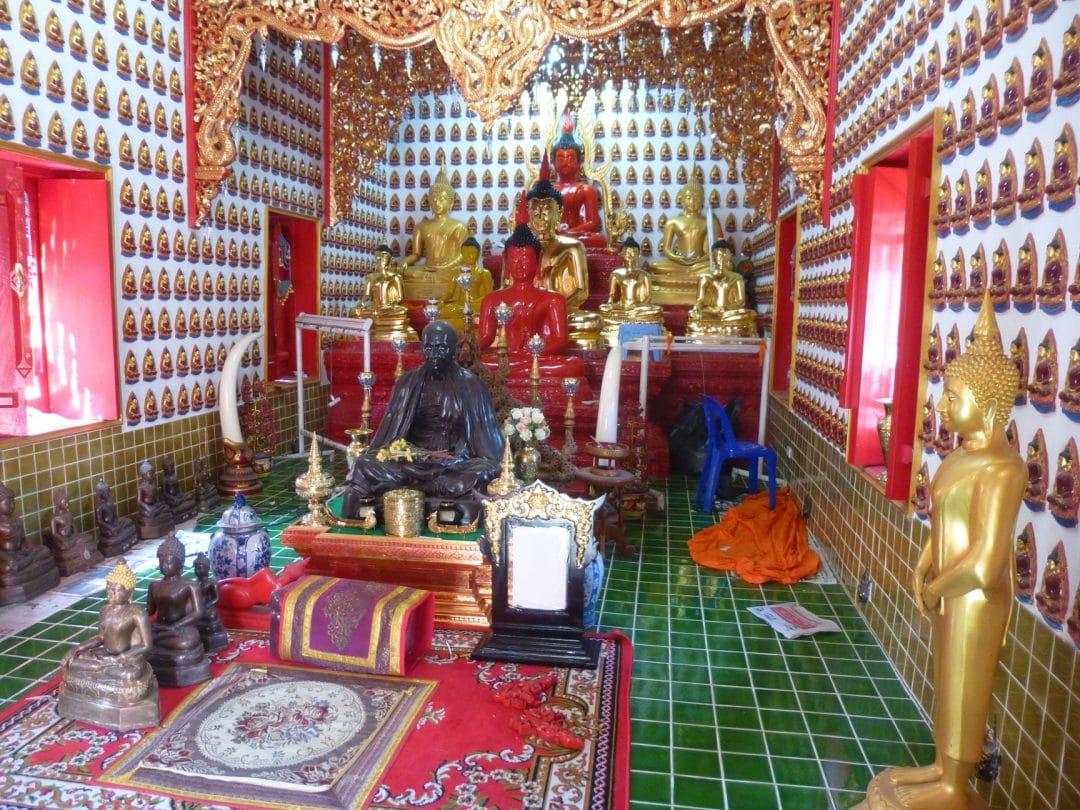 Buddahs at Wat Oopakoot, Chiang Mai