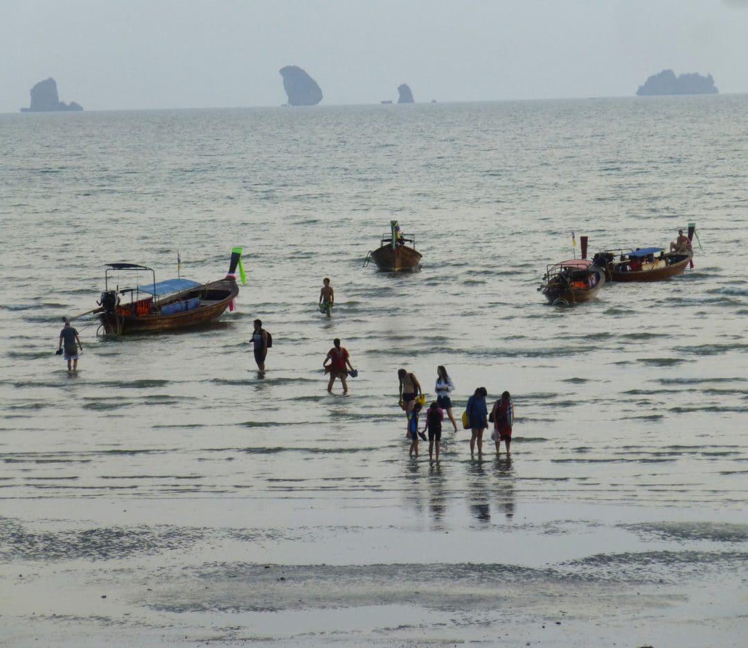 Ao Nang beach in Thailand