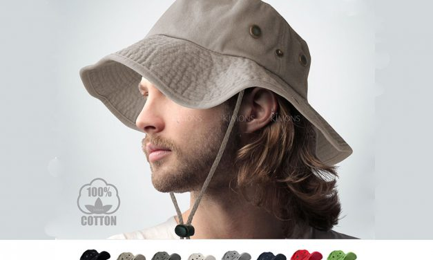 Aussie Packable Fishing Outback Sun Hat for Men & Women