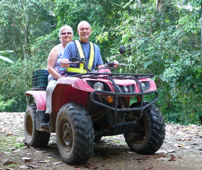 Laurie-&-Neil-on-Quad in Costa Rica
