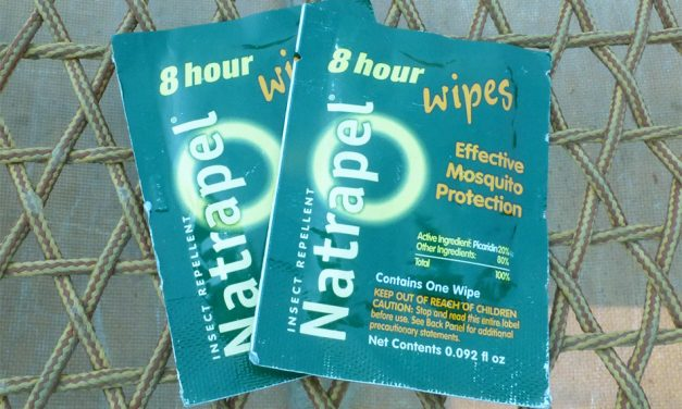 Natrapel 8-Hour Deet Free Repellent Wipes 12-pack