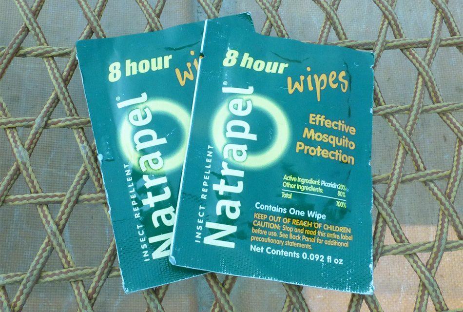 Natrapel 8-Hour Deet Free Repellent Wipes 12-pack