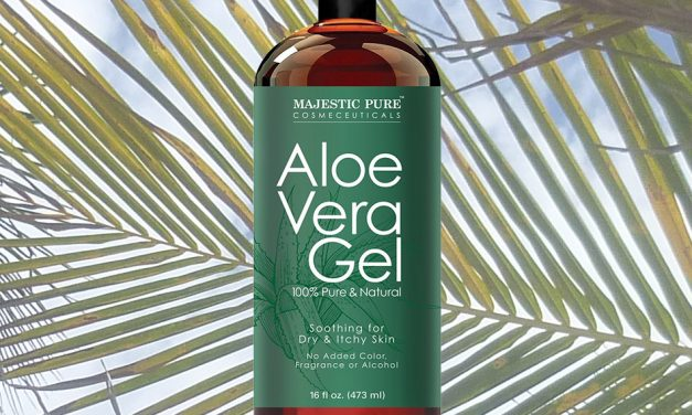 Majestic Pure Aloe Vera Gel – Natural Organic Sunburn Relief