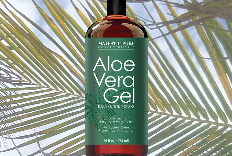 Majestic Pure Natural Organic Aloe Vera Gel Review Travel