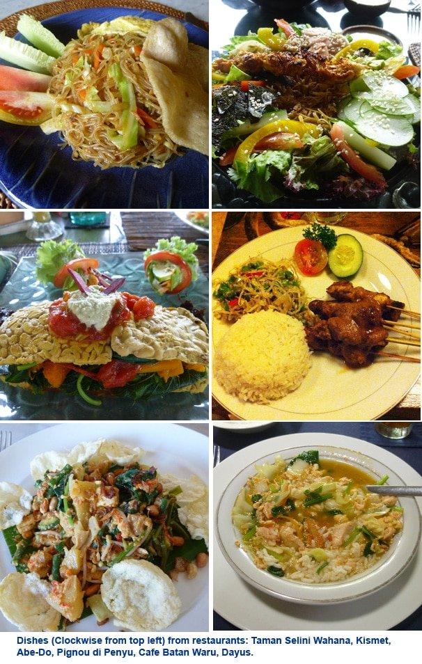 Artful food at Bali restaurants