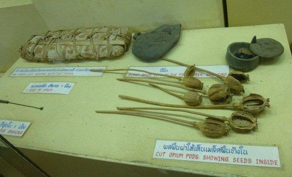 Exhibit at Chiang Rai Opium Museum