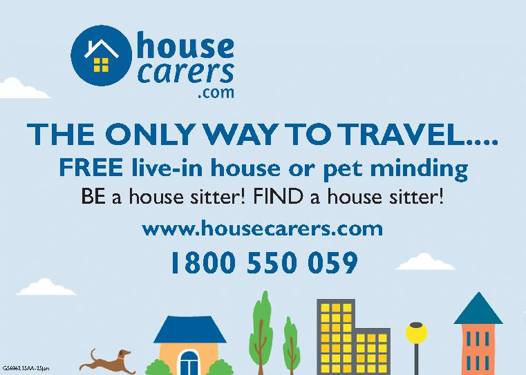 House Carers - Great for House Sitters