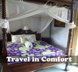 Travel in comfort